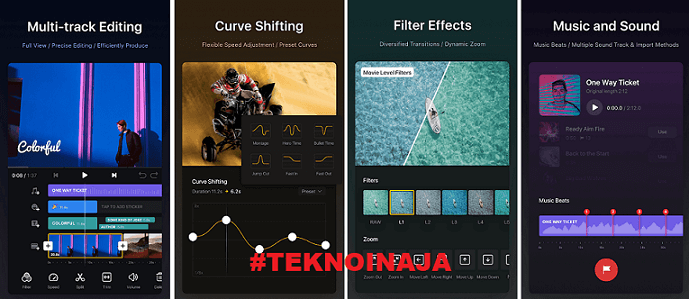 Vn Video Editor Mod Apk Aplikasi Edit Video Vlog Terbaru Teknoinaja