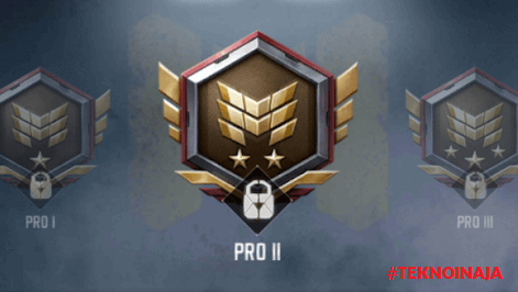 pangkat call of duty mobile pro