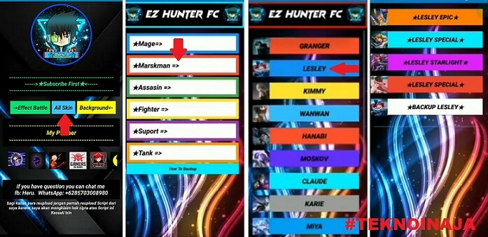 download ez hunter fc apk for android